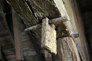 Von Mazeration betroffene Holzverbindung