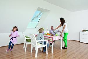 Roto bietet Produkte, die für ein gesundes Wohnklima unter dem Dach sorgen
