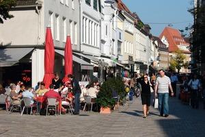 Blick in die <br />Bielefelder <br />Altstadt <br />