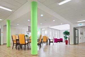 Stimulierend: Auf den Gemeinschaftsflächen kommt aktivierendes Licht zu Einsatz<br />