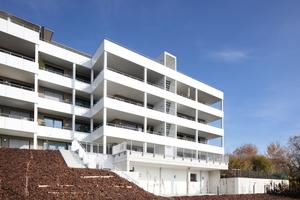 Das Gebäude hält 2200 m² an Wohnraum für 19 Wohnungen unterschiedlicher Größe bereit