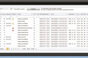 Die Software sorgt für eine optimale Übersicht über den Workflow von der Störmeldung bis hin zur Auftragsbearbeitung und Abrechnung