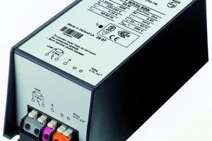 Dimmbares elektronisches Vorschaltgerät, erhältlich mitsechs bzw. zehn Stunden leistungsreduziertem Betrieb