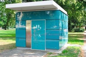 Auch das ein Auftrag der Stadt: öffentliche Toilette Steingrube I<br />