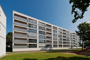 In der Augsburger Grüntenstraße wurden Gebäude mit der TES EnergyFacade saniert (Architekt: lattkearchitekten)