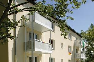 Die Mehrfamilienhäuser in Eschweiler wurden mit einer umfassenden baulichen und energetischen Sanierung aufgewertet. Neue Grundrisse sorgen für eine gute Sozialstruktur und eine hohe Nachfrage<br />