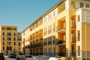 2007 war die Grundsteinlegung für eine der größten Wärmepumpen-Siedlungen Europas; 2011 werden die letzten Mieter einziehen<br />