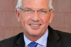 Clemens Kuhlemann, Geschäftsführer der Deutschen Poroton