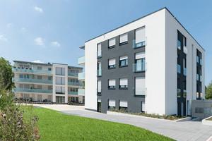 Die beiden in 2013 errichteten Wohngebäude sind in Massivbauweise im KfW-70-Standard ausgeführt