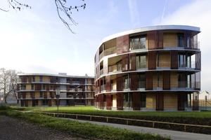<strong>rechts:</strong> Energieeffizienter, verdichteter Wohnbau – Exkursion zu kosten- und energieeffizienten Wohnanlagen <br /><br />