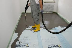 Mit nur 31 mm Aufbauhöhe erreichte der Spar- und Bauverein Dortmund eine Trittschallverbesserung um 25 dB