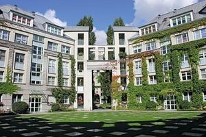 Die Anlage wurde in den Jahren 1985 bis 1988 im Nordwesten Berlins errichtet