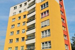 Das Gebäude in der Aggerstraße in Bochum wurde modernisiert. Es wurden neue Aufzüge eingebaut und die Zugänge barrierefrei gestaltet <br /><br />
