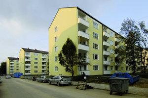Neue Wohnqualität: Die Innenhöfe können nach der Schallschutzbebauung ganz neu von den Bewohnern genutzt werden