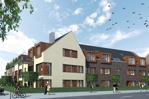 Die Wohnkompanie baut diese Düsseldorfer Büroimmobilie zum Wohnquartier um