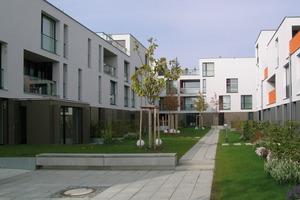 Die Wohnanlage An der Donau besticht durch eine abwechslungsreiche Architektur sowie durch unterschiedliche Geschosshöhen<br />