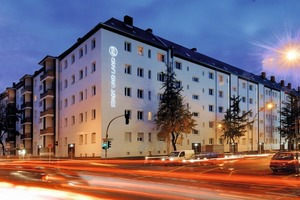 Sanierungsmaßnahme Dudenstraße Ecke Boelckestraße. Die Ausschreibungs- und Vergabeprozesse haben Zukunftspotenzial<br />