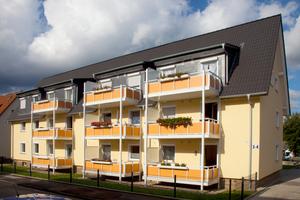 Erstrahlt in neuem Glanz: das GeWoGe-Mehrfamilienhaus in Hemer
