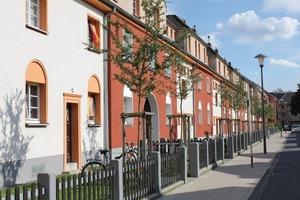 Die Germania-Siedlung in Köln. Die Häuser stehen unter Denkmalschutz<br />