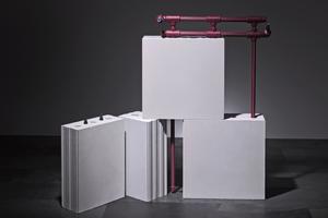 Da die gesamte Wand und die Decke als Wärmespeicher genutzt werden, kann KS-Quadro Therm mit einer geringen Vorlauftemperatur arbeiten