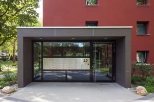 Die Eingangsbereiche sind leicht zu finden und wurden behindertengerecht umgebaut<br />