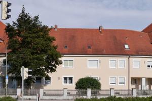 Rund 950 m² WDVS wurden am Hindenburgring 1 / 3 verbaut