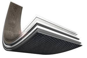 Die Beläge bieten aufgrund ihres Gewichts, einer rückseitigen Wabenstruktur und der Verlegung im Verbund Funktionalität