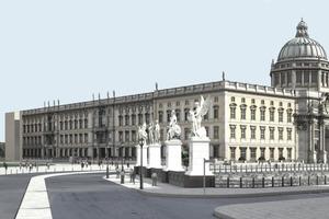 Ansicht von Unter den Linden