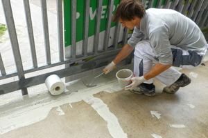Kalt appliziert, dauerhaft dicht: Flüssigkunststoff schützt Bauten im Bestand vor eindringender Feuchtigkeit