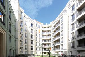 Am Barbarossaplatz entstanden 86 Eigentumswohnungen mit einer Gesamtwohnfläche von etwa 9750 m<sup>2</sup>