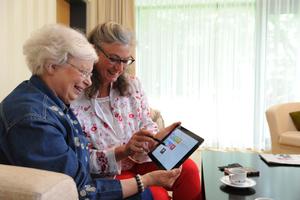 Mit einem selbsterklärenden Menü macht der Tablet-PC Spaß