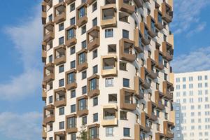 """68 Wohnungen von 54 bis 197 m² finden im 16-geschossigen """"IsarBelle""""-Hochhaus Platz"""