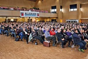 Baumit veranstaltet den Allgäuer Baufachkongress bereits zum elften Mal
