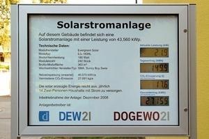 Sonne für Senioren. Die Solaranlage auf dem Dach ist an den örtlichen Energieversorger vermietet. Die Erlöse werden in Projekte für Senioren investiert<br />