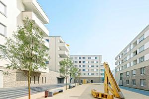 Das Quartier SeelbergWohnen im August 2011