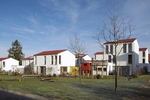 Der zweite Preis ging an Brucker.Architekten, die auf einer ehemaligen Konversionsfläche ein urbanes Wohncluster planten<br />