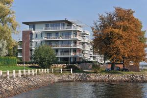 Bei den Kieler Fördeterrassen setzte der Bauherr auf zukunftsweisende Energieversorgung