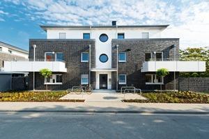 Der Bestand von 2900 Wohnungen und Häusernder WGOumfasst zunehmend auch Neubauten wie im Blumenesch 4 in Osnabrück