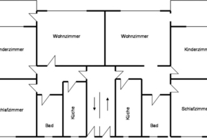 """Solinger Pilotprojekt: In einem """"Doppelspänner"""" wurde der Energieverbrauch in Wohnungen mit identischen Grundrissen verglichen"""