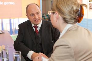 Im Gespräch ging es um das Bewertungssystem Nachhaltiger Wohnungsbau<br />