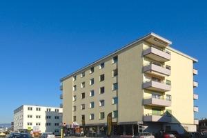 Das Mehrfamilienhaus im Vorarlberger Lustenau wurde 1966 mit einem polystyrolbasierten WDVS gedämmt. In den vergangenen 48 Jahren war lediglich ein Renovierungsanstrich nötig, um die uneingeschränkte Funktionsfähigkeit zu erhalten
