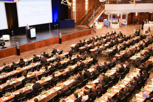 Plenum für die moderierte Diskussion mit Ruprecht Eser