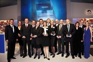 Preisträger und Jurymitglieder des DW-Zukunftspreises 2011<br />