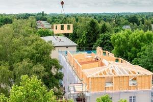Planungsarbeiten bei der Sanierung der Wohnanlage in Berlin Lichterfelde Süd