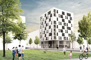 Die nächsten Ziele sind abgesteckt: Wohnungsbau als Hochhaus in Holzbauweise für den Neckarbogen in Heilbronn