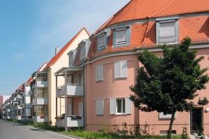 nachhher: Aus vernachlässigten Werkswohnungen in Schweinfurt sind attraktive Häuser mit lebendiger Nachbarschaft geworden<br />