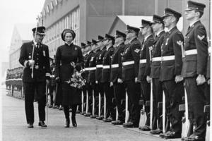 1978 besuchte Prinzessin Ann die kanadischen Truppen in Lahr<br />