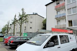 Die Wohnungen in den zehn Mehrfamilienhäusern in Dillingen/Saar wurden vor der Sanierung mit Gas-Einzelraumöfen beheizt