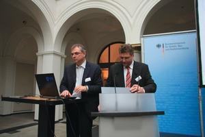 Siegried Wernik (links) und August Pries<br />