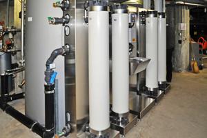 Ulrafiltrationsanlage am Hauswassereingang